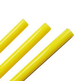 Клей для термоклеевого пистолета 7 мм, цвет желтый, 25см