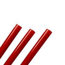 Клей для термоклеевого пистолета 7 мм, цвет красный, 18см