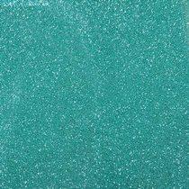Фоамиран с глиттером, цвет светло-бирюзовый 2 мм. 20х30 см