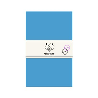Блокнот для акварели и графики Classic AQUA А5, 230г/м2, 24л., MAXGOODZ, цвет голубой