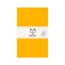 Блокнот для акварели и графики Classic AQUA А5, 230г/м2, 24л., MAXGOODZ, цвет желтый