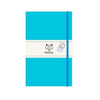 Блокнот для графики и письма Heavy А5, 120г/м2, 96л., MAXGOODZ, цвет светло-бирюзовый