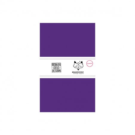 Блокнот для маркеров Classic Marker А5, 220г/м2, 20л., MAXGOODZ, цвет фиолетовый