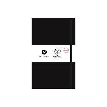 Блокнот для маркеров Heavy White А5, 160г/м2, 96л., MAXGOODZ, цвет черный