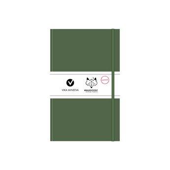 Блокнот для маркеров Heavy White А5, 160г/м2, 96л., MAXGOODZ, цвет болотный