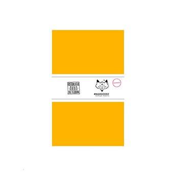 Блокнот для маркеров Classic Marker А5, 220г/м2, 20л., MAXGOODZ, цвет желтый