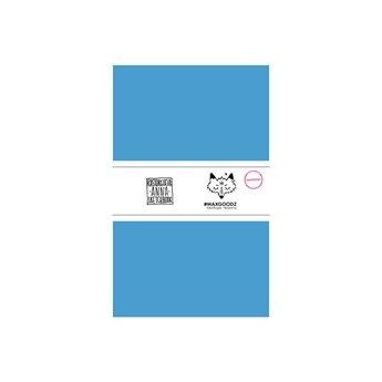 Блокнот для маркеров Classic Marker А5, 220г/м2, 20л., MAXGOODZ, цвет голубой
