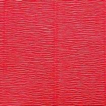 Креп-бумага (гофро-бумага) Италия, плотность - 180г/м², 50смх2,5м, №580 алый