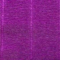Креп-бумага (гофро-бумага) Италия, плотность - 180г/м², 50смх2,5м, №593 фиолетовый
