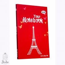 """Блокнот №278 """"Artbook"""" red, B6, 128л."""