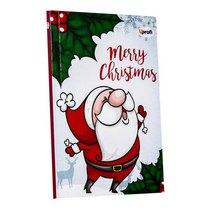"Блокнот №036 ""Merry Christmas"" santa, B6, 80л."