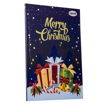 """Блокнот №012 """"Merry Christmas"""" present, A5, 80л."""