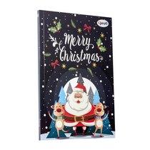 """Блокнот №029 """"Merry Christmas"""" santa, A5, 80л."""