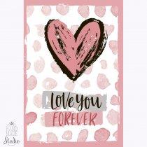 """Блокнот №411 Love """"With love"""", B6, 40л."""
