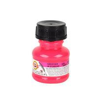 Тушь художественная Koh-n-noor, цвет розовый флуоресцентный 20 г.