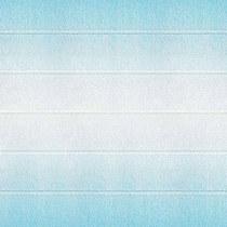 Креп-бумага (гофро-бумага) Италия, плотность - 180г/м², 50смх2,5м, с переходом №600/2 бело-голубой