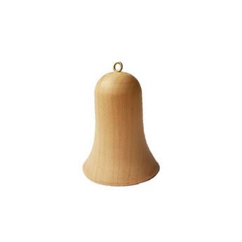 Колокольчик деревянный с серединкой, 6,5х5 см