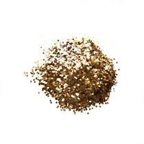 Глиттер (крупные блестки) , цвет - золото (10г.)