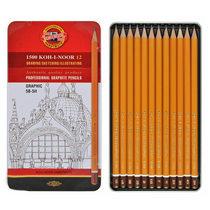 Набор графитных карандашей 1500 Graphic 5B-5H KOH-I-NOOR, 12 штук