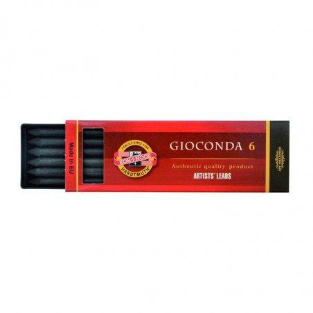 Уголь искусственный KOH-I-NOOR GIOCONDA, грифель 5.6 мм., твердый