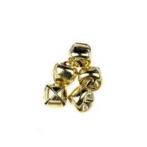 Бубенчик металлический 1 см, цвет золото 5 шт