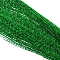 Нить люрексовая 1 мм, цвет зеленый, 1м