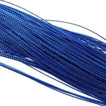 Нить люрексовая 1 мм, цвет синий, 1м