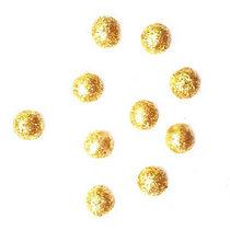 Шарики d 1см (10штук), цвет золото