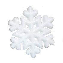 Снежинка пенопластовая №7, 20,5 см