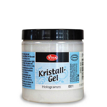 Kristall-Gel VIVA №001 Голлограмма , 250 мл.