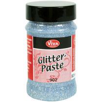 GLITTER Paste VIVA №902 Серебро, 90 мл.