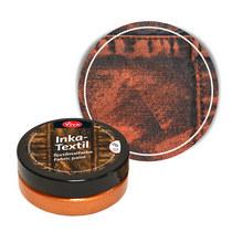 Краска для ткани с металлическим эффектом INKA-TEXTIL VIVA №903 Медь, 50мл