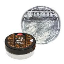 Краска для ткани с металлическим эффектом INKA-TEXTIL VIVA №902 Платина, 50мл