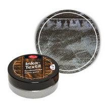 Краска для ткани с металлическим эффектом INKA-TEXTIL VIVA №802 Антрацит, 50мл
