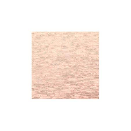Креп-бумага (гофро-бумага) Италия, плотность - 180г/м², 50смх2,5м, №17А2 персиковый