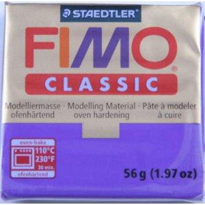 Полимерная глина Fimo Classic, 56г - №77, шоколадный