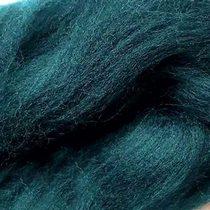 Шерсть для валяния 100% (22-24 мк.) Глубокий сине-зеленый №49, 50г.