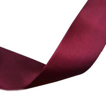 Атласная лента, цвет сливовый, 50 мм, 1м.