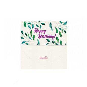 """Подарочный конверт для денег """"Happy Birthday"""" 16,5х8,5 см"""