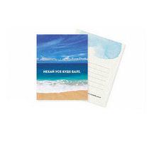 """Мини открытка """"Нехай усе буде Балі""""+ крафт конверт 10х7,5 см"""