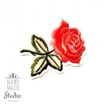 Термонашивка Роза №19, 6,5х4,5 см