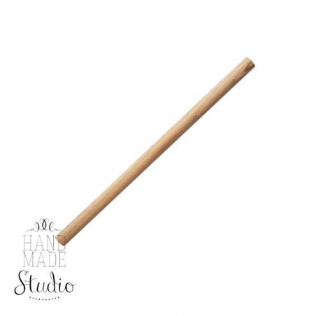 Круглая деревянна  палочка (нагель), d-10мм, 15см