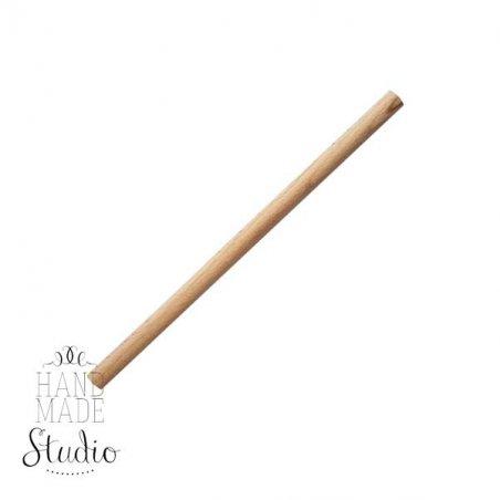 Круглая деревянна  палочка (нагель), d-10 мм, 25 см