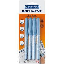 Набор линеров Centropen Document 2631/04 (4 штуки)