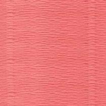 Креп-бумага (гофро-бумага) Италия, плотность - 180г/м², 50смх2,5м, №601 Коралловый