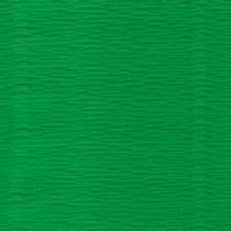 Креп-бумага (гофро-бумага) Италия, плотность - 180г/м², 50смх2,5м, №563 Зеленый