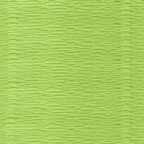 Креп-бумага (гофро-бумага) Италия, плотность - 180г/м², 50смх2,5м, №558 Яблочный сорбет