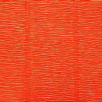 Креп-бумага (гофро-бумага) Италия, плотность - 180г/м², 50смх2,5м, №17Е/6 Мандариновый