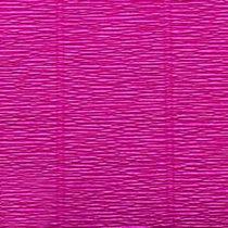 Креп-бумага (гофро-бумага) Италия, плотность - 180г/м², 50смх2,5м, №572 Фуксия