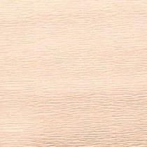 Креп-бумага (гофро-бумага) Италия, плотность - 180г/м², 50смх2,5м, №17А5 Пастельно-персиковый